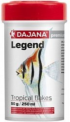 Корм Dajana Legend Tropical Flakes хлопья для рыб